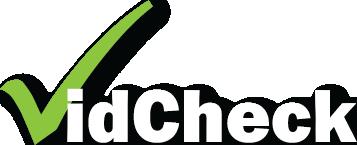 VidCheck logo